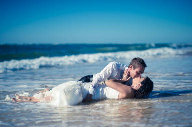seance trash the dress mariage agen