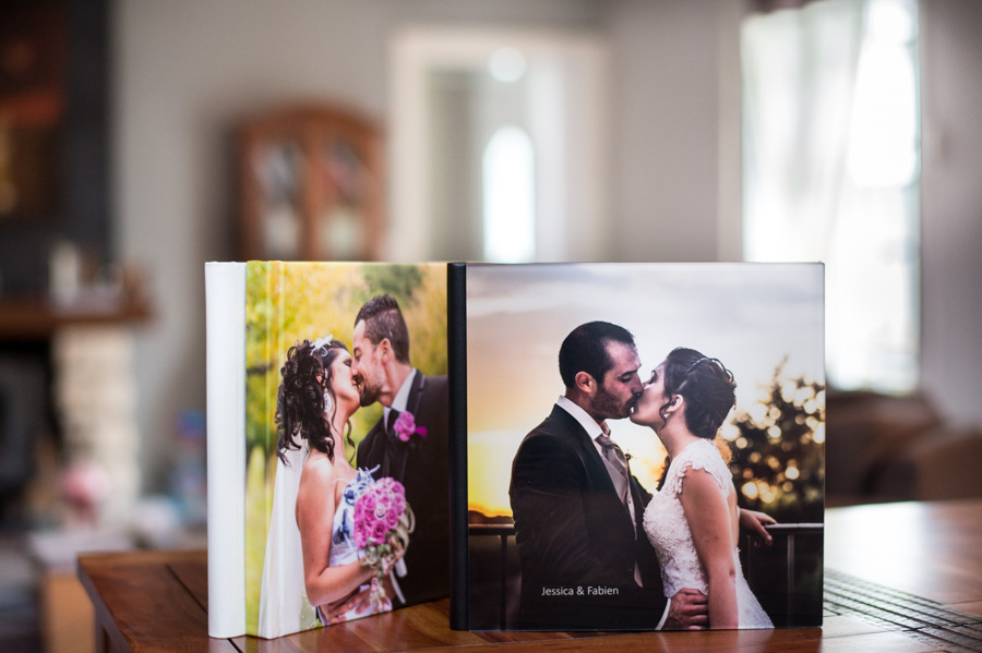photographe à Agen, les livres de mariage