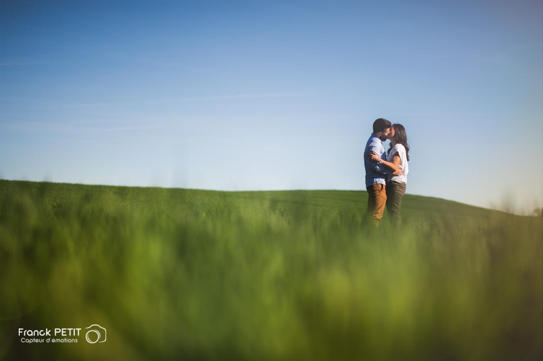 Claudia & Damien - Séance engagement près de Villeneuve sur Lot