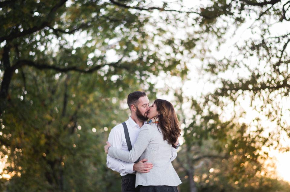 Isabelle & Jeremy - Séance engagement à Agen
