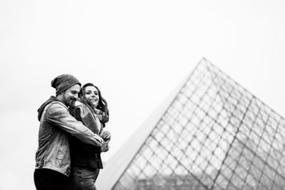 Laurie & Geoffrey- Seance engagement Paris